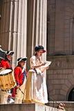 Cerimónia para a declaração fotos de stock royalty free