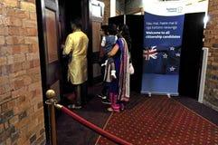Cerimônia da cidadania de Nova Zelândia em Auckland Nova Zelândia Imagens de Stock