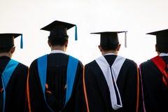 Cerimônia de graduação da universidade imagens de stock royalty free