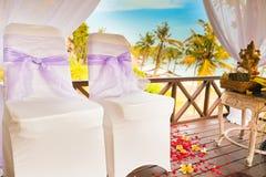 Cerimônia de casamento do Balinese Fotos de Stock Royalty Free