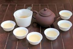 Cerimônia de chá imagens de stock