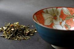 Cerimônia de chá verde japonesa Fotografia de Stock Royalty Free