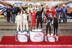 A cerimônia de entrega dos prêmios nos esportes complexos Foto de Stock