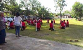 Cerimônia de Katin Foto de Stock
