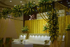 Cerimônia de Mehandi fotografia de stock royalty free