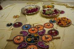 Cerimônia de Mehandi imagem de stock