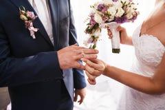 Cerimônia de Wediing Fotos de Stock