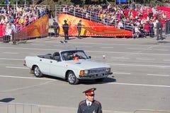 Cerimônia do russo da parada militar da abertura no vencedor anual Fotos de Stock Royalty Free