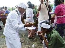 Cerimônia dos hindus Foto de Stock