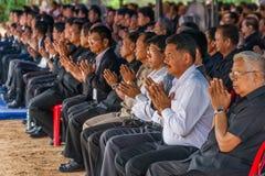 Cerimônia fúnebre Foto de Stock Royalty Free