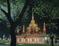 Cerimônia fúnebre real em Tailândia Foto de Stock Royalty Free