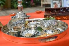 Cerimônia indiana foto de stock