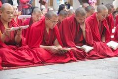 Cerimônia no Punakha Dzong, Punakha, Butão Fotografia de Stock