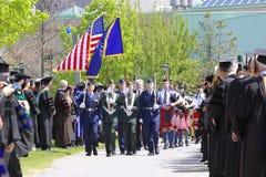 Cerimonia 2012 di graduazione dell'università di Clarkson Immagini Stock