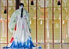 Cerimonia al santuario di Yasaka, Kyoto Immagini Stock Libere da Diritti