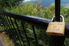 Cerimonia chiave di amore Immagine Stock Libera da Diritti