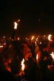 Cerimonia del miracolo santo del fuoco Immagine Stock Libera da Diritti