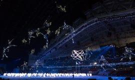 Cerimonia di apertura dei giochi olimpici di Soci 2014 Immagine Stock
