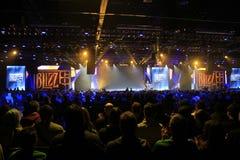Cerimonia di apertura 2015 di BlizzCon fotografia stock
