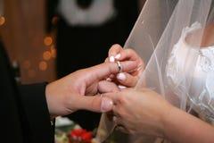 Cerimonia di cerimonia nuziale Fotografie Stock