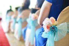 Cerimonia di cerimonia nuziale Immagini Stock