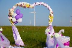 Cerimonia di cerimonia nuziale Fotografia Stock Libera da Diritti