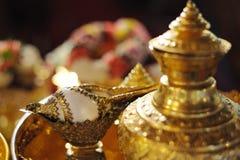 Cerimonia di cerimonia nuziale tailandese Fotografie Stock Libere da Diritti