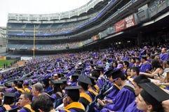 Cerimonia di inizio dell'università di New York (NYU) 181st Immagine Stock