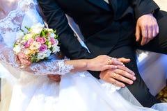 Cerimonia di matrimonio Fotografia Stock