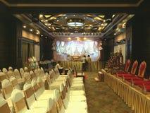 Cerimonia di nozze della stanza Fotografie Stock Libere da Diritti