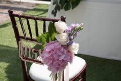 Cerimonia di cerimonia nuziale in giardino Destinazioni, cortile immagine stock libera da diritti