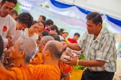 Cerimonia di Songkran Fotografie Stock Libere da Diritti