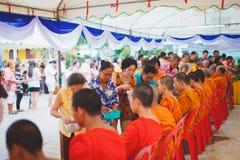 Cerimonia di Songkran Immagine Stock