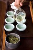 Cerimonia di tè Immagini Stock Libere da Diritti