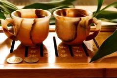 Cerimonia di tè Immagine Stock