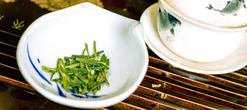 Cerimonia di tè Fotografia Stock