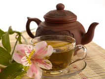 Cerimonia di tè. Immagini Stock