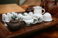 Cerimonia di tè cinese Fotografia Stock