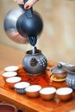 Cerimonia di tè cinese fotografia stock libera da diritti