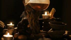 Cerimonia di tè del cinese tradizionale video d archivio