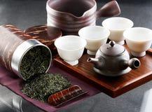 Cerimonia di tè tradizionale Fotografie Stock