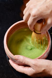 Cerimonia di tè giapponese Fotografia Stock Libera da Diritti