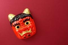 Cerimonia giapponese di febbraio immagine stock libera da diritti