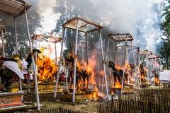 Cerimonia indù Immagini Stock Libere da Diritti