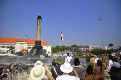 Cerimonia indonesiana di indipendenza Fotografie Stock