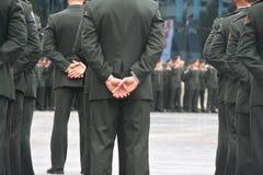Cerimonia militare Fotografie Stock Libere da Diritti