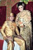 Cerimonia nuziale dell'Asia Sud-Orientale Fotografia Stock