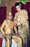 Cerimonia nuziale dell'Asia Sud-Orientale Immagine Stock