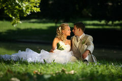 cerimonia nuziale delle coppie Fotografie Stock Libere da Diritti