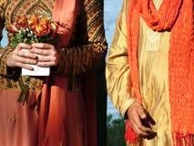Cerimonia nuziale interculturale fotografia stock libera da diritti